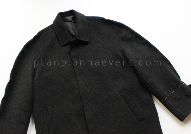Plan B anna evers DIY oversize coat step 2