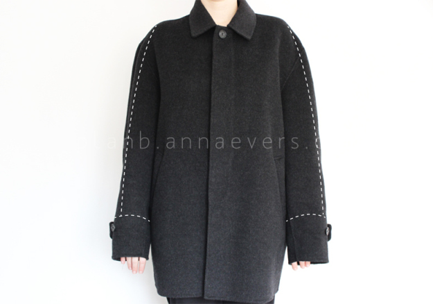 Plan B anna evers DIY oversize coat step 1