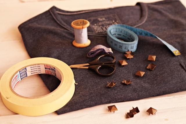 materiales para el tueno camisetil