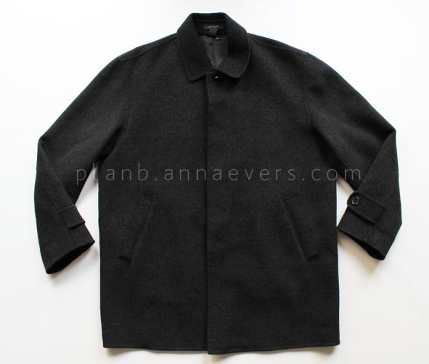 Plan B anna evers DIY oversize coat (before)