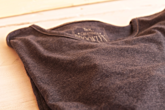 camiseta antes de tunear