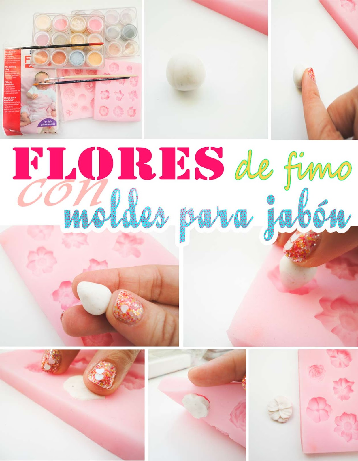 como-hacer-flores-de-fimo-con-moldes-de-jabon-how-to-make-flowers-polymer-clay-soap-molds