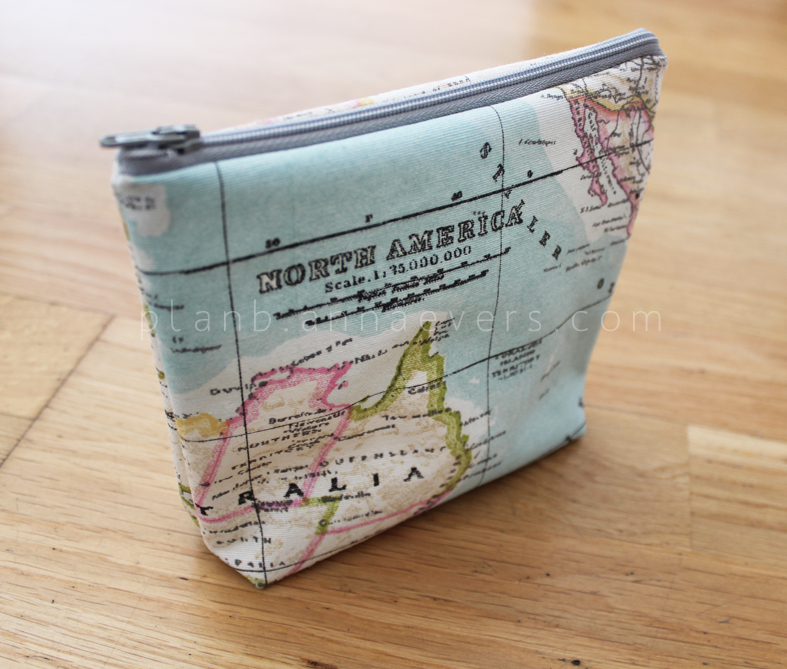 Plan B anna evers DIY Makeup bag.