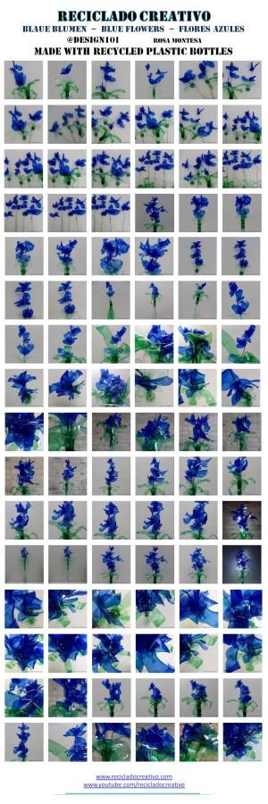 Blue lilies - blaue blume - Lirios azules - flores
