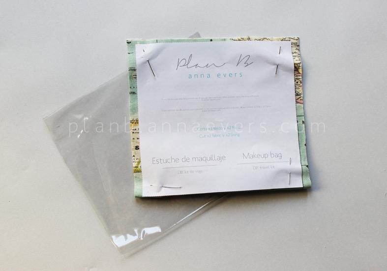 Plan B anna evers DIY Makeup bag step 1a