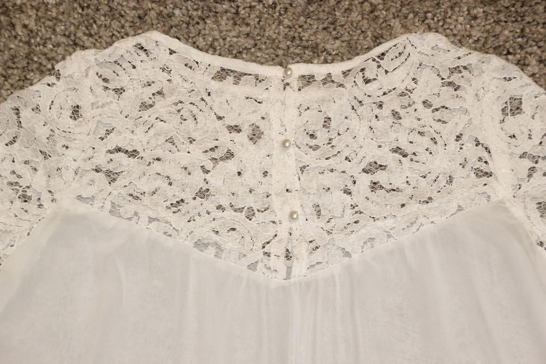 DIY Costura blusa camisa gasa y encaje patrones gratis mujer