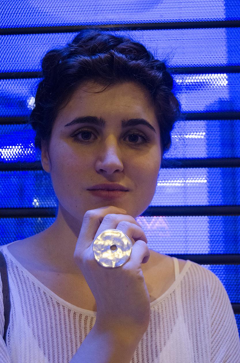 diy anillo metal