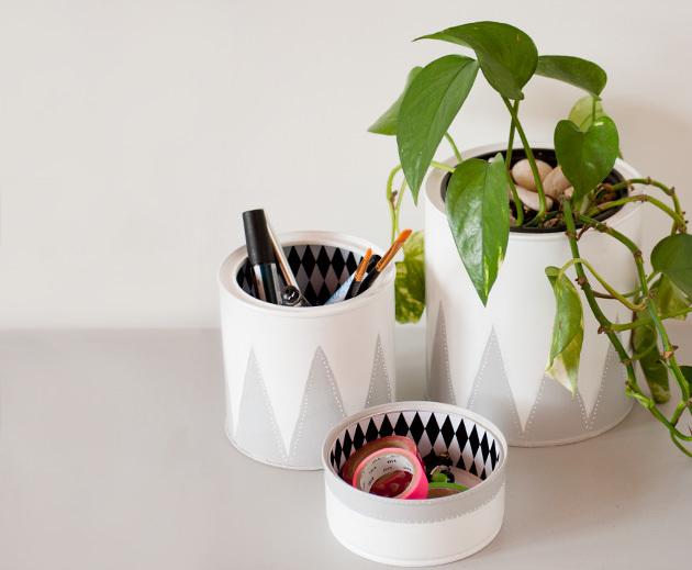 DIY ¡pinta tus latas! by I am a Mess