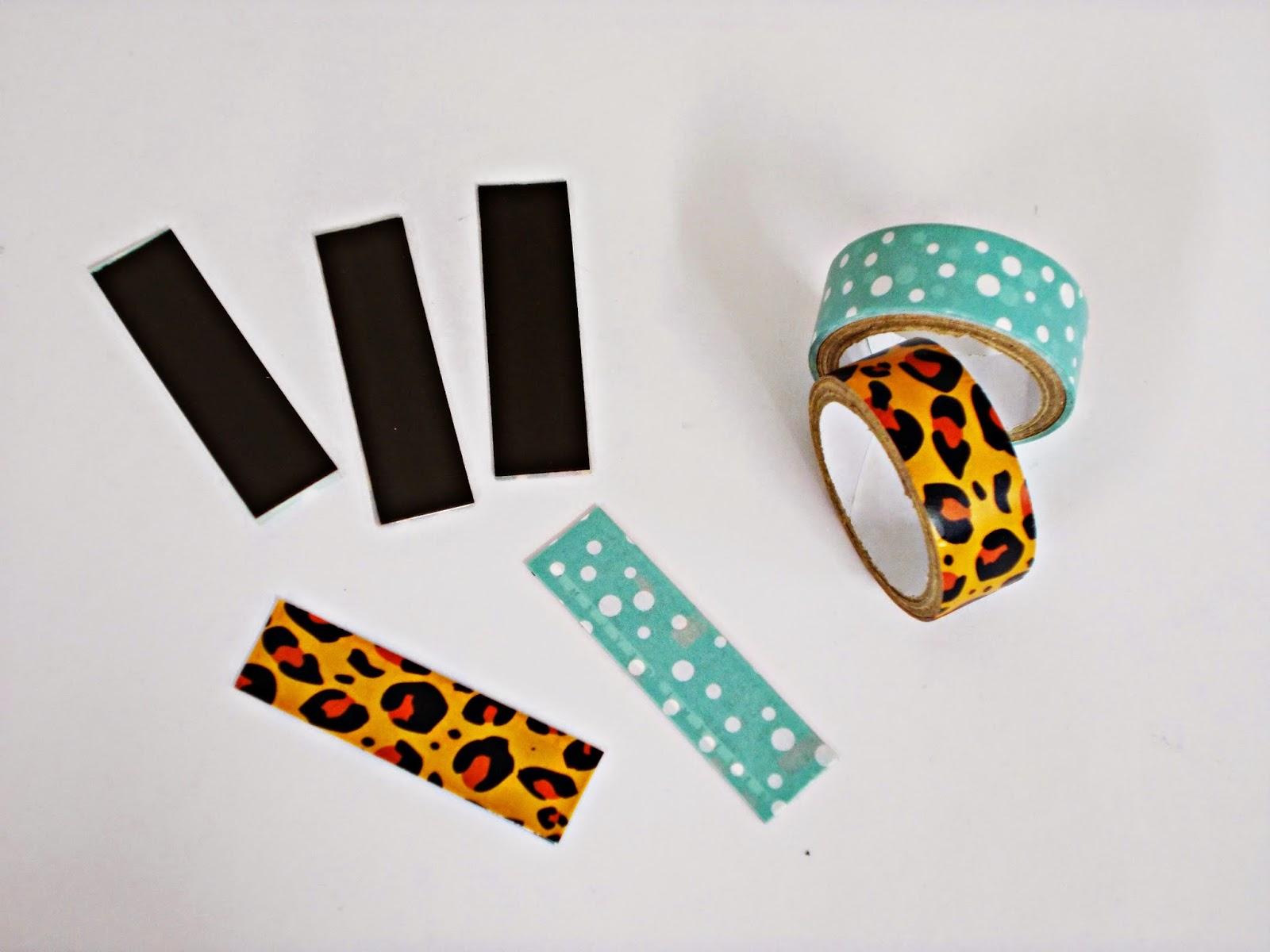 DIY-reciclar-imames-nevera-washi tape-4