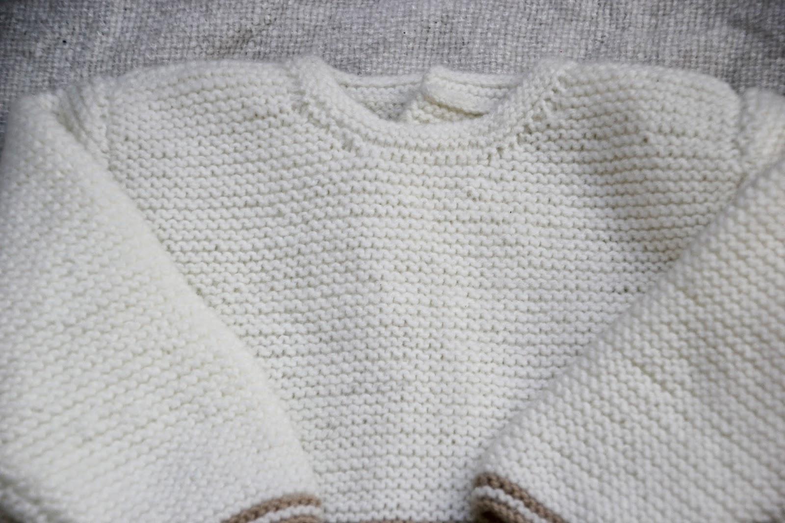 diy conjunto bebé: cómo hacer jersey de lana parte 1 (patrones ...