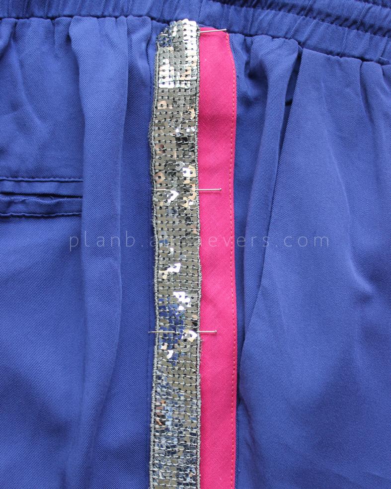 Plan B anna evers DIY side stripe pants 2.0 step 6