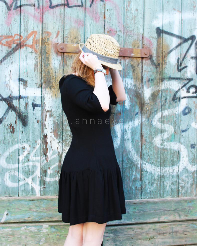 Plan B anna evers DIY drop waist dress