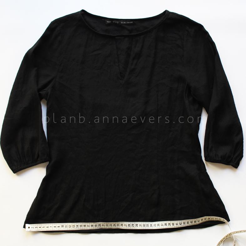 Plan B anna evers DIY drop waist dress step 1