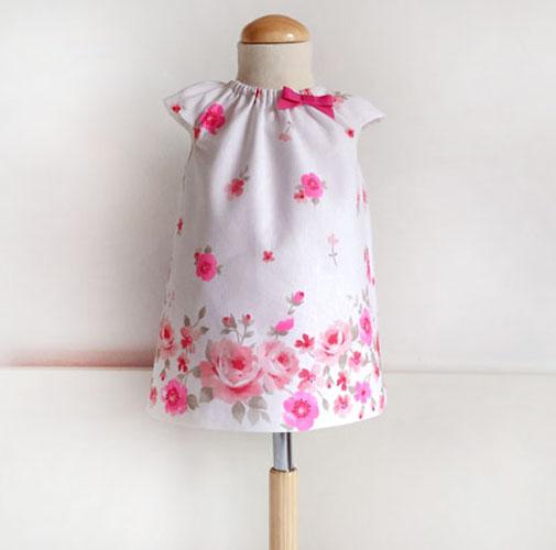 vestido bebé- patronesmujer
