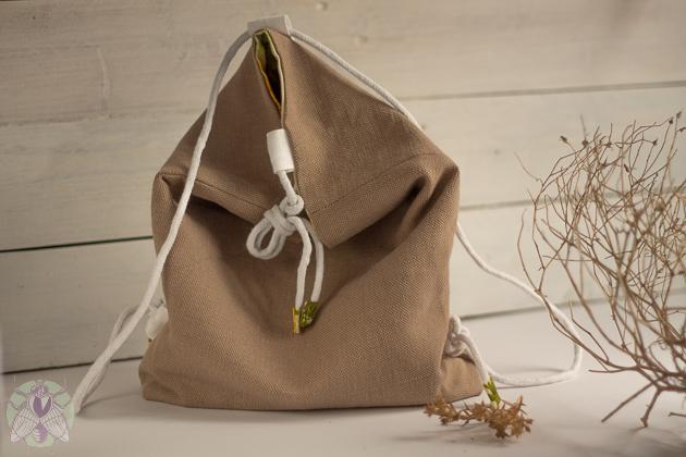 mochila fácil y minimalista