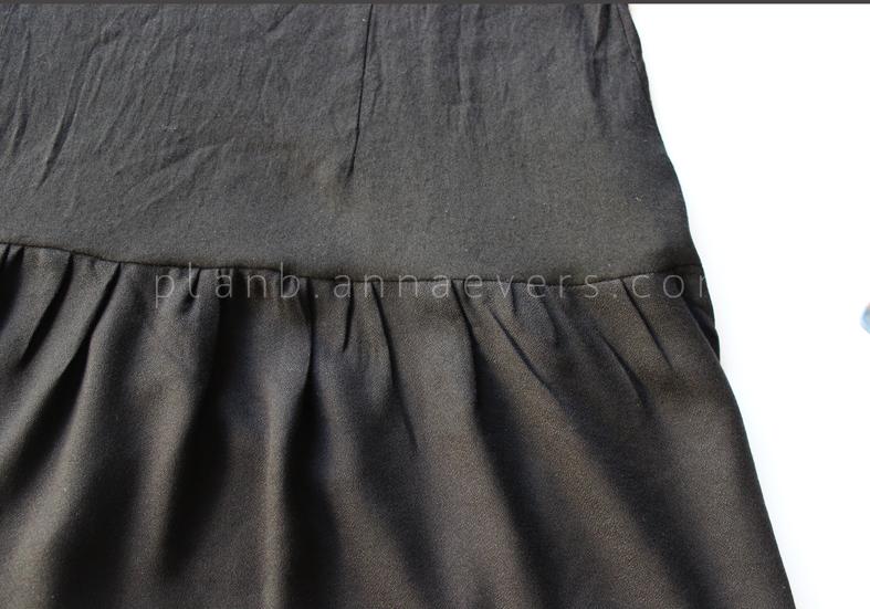 Plan B anna evers DIY drop waist dress step 7