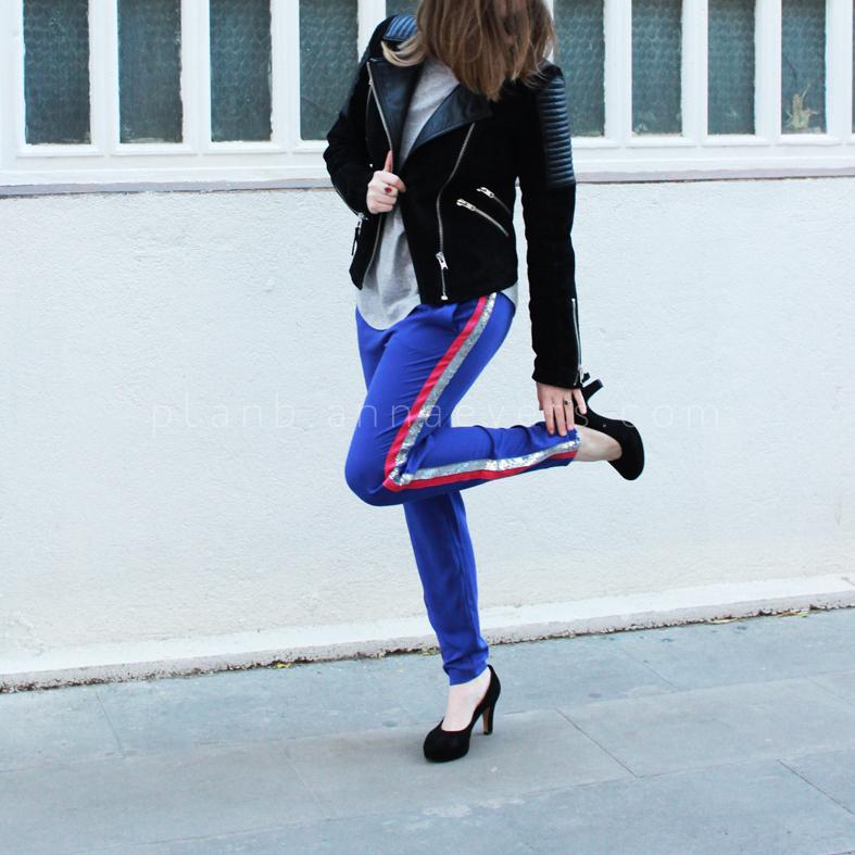 Plan B anna evers DIY side stripe pants 2.0