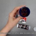 Cómo hacer un caleidoscopio con rollos de cartón de papel higiénico. Reciclado Creativo by Rosa Montesa