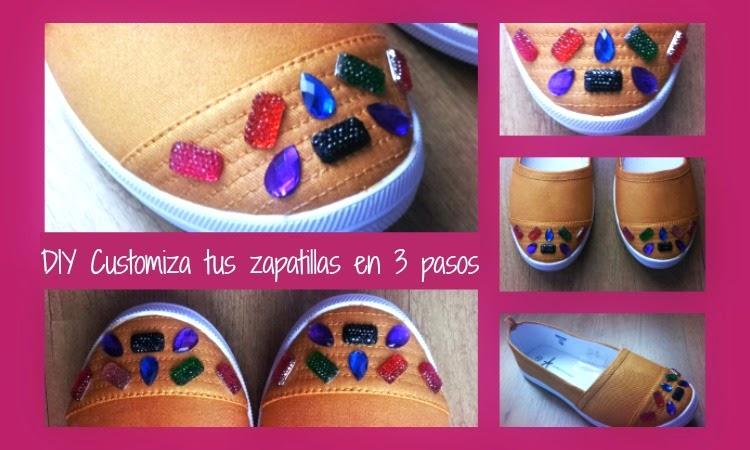 diy como customizar tus zapatillas clasicas de lona tipo vans,victoria,blancas y convertirlas en joya