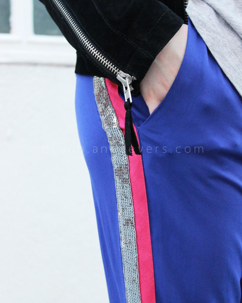 Plan B anna evers DIY side stripe pants 2.0 diy