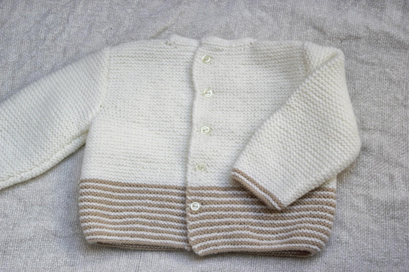 DIY Tejer Ropa bebé: Cómo hacer jersey de lana PARTE 1 (patrones gratis)