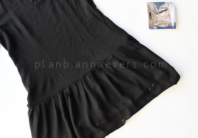 Plan B anna evers DIY drop waist dress step 8