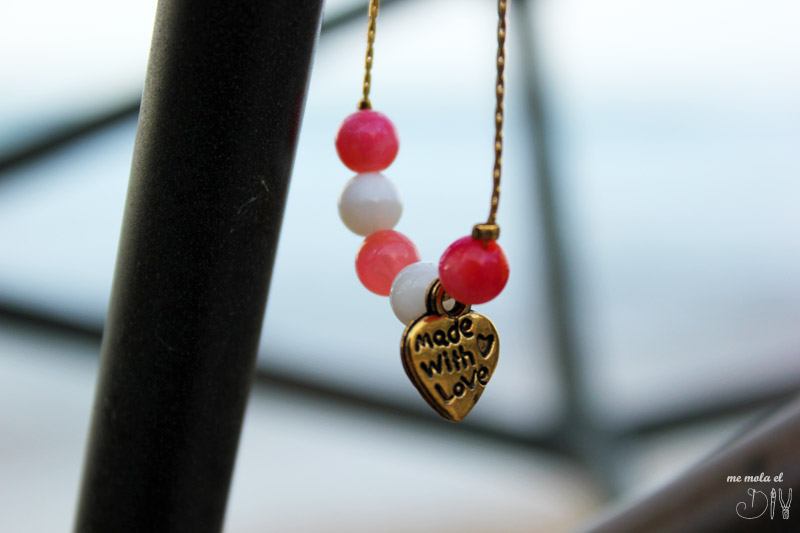 tutorial pulsera hecha con amor
