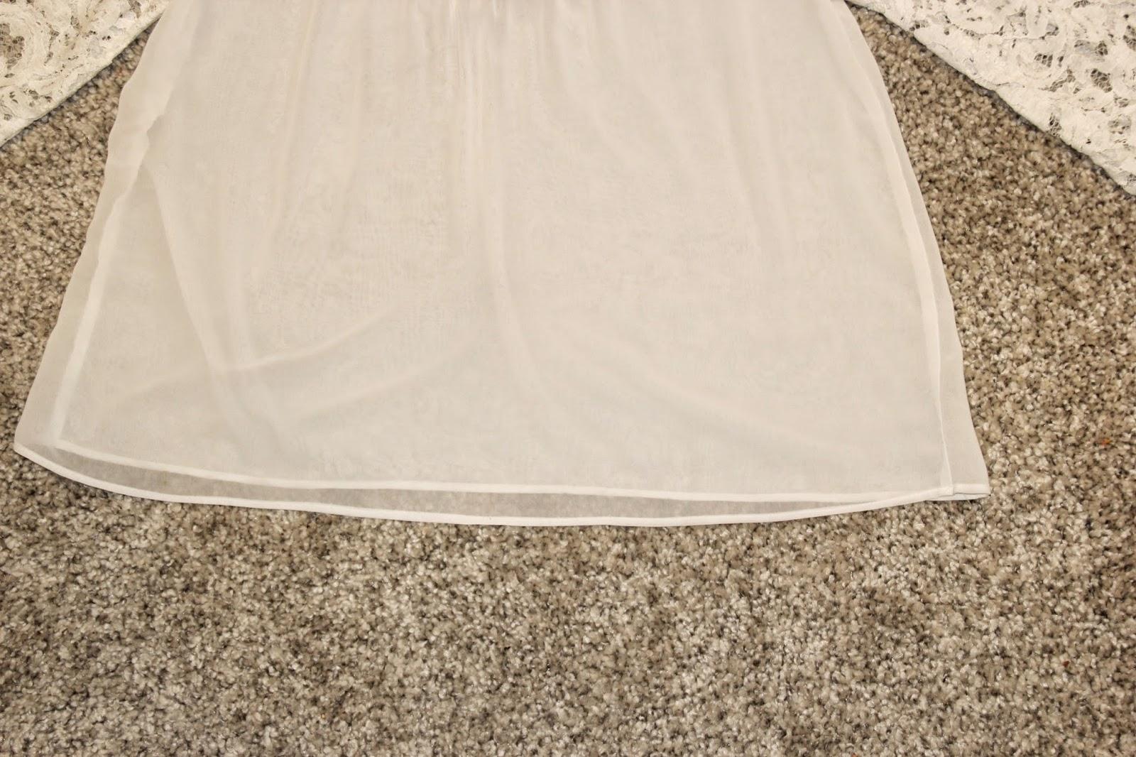diy blusa de gasa y encaje (patrones gratis) - Handbox Craft Lovers ...