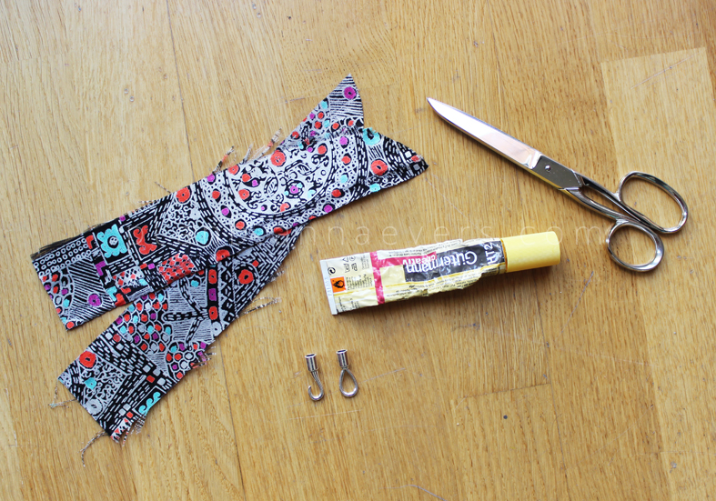 Plan B anna evers DIY Fabric bracelet materials