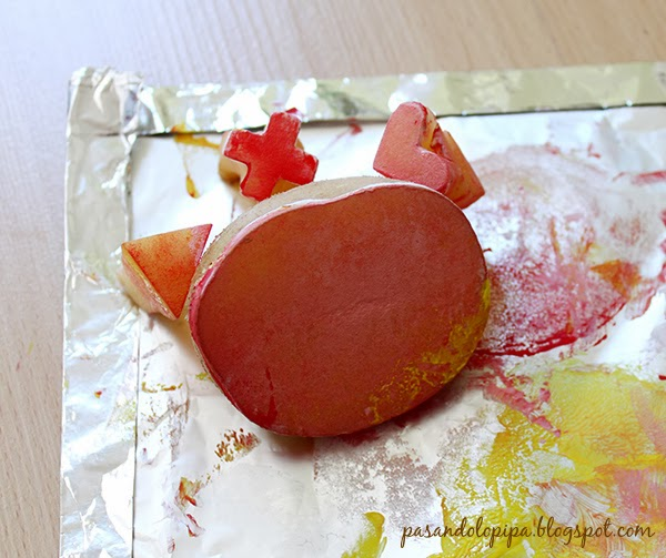 pasandolopipa | sellos de patata