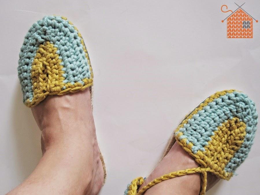 Alpargatas de Ganchillo - Handbox Craft Lovers | Comunidad DIY ...