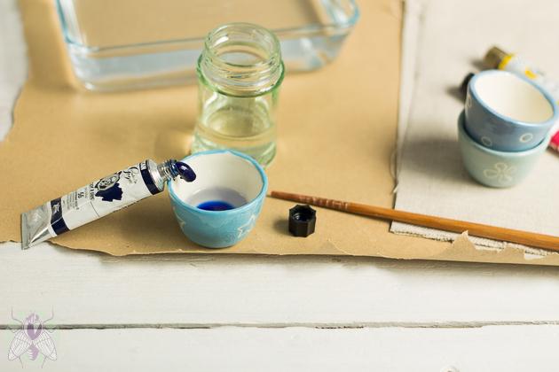 mezclar oleo con disolvente