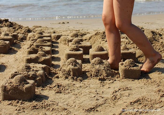 Hello Summer: castillos de arena