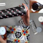 Caleidoscopio hecho reciclando botes de Pringles - Kaleidoscope made out of recycled tubes of Pringles
