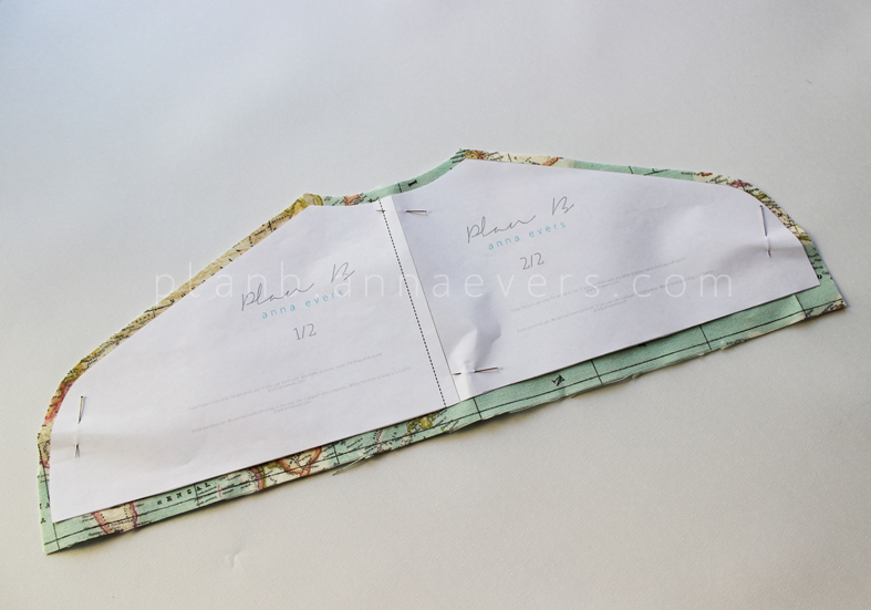 Plan B anna evers DIY Secret hanger (free pattern)  step 1