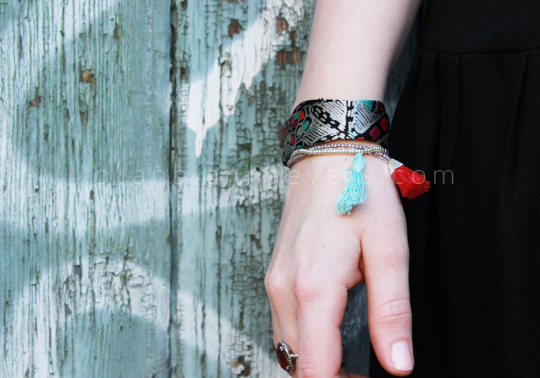 Plan B anna evers DIY Fabric bracelet