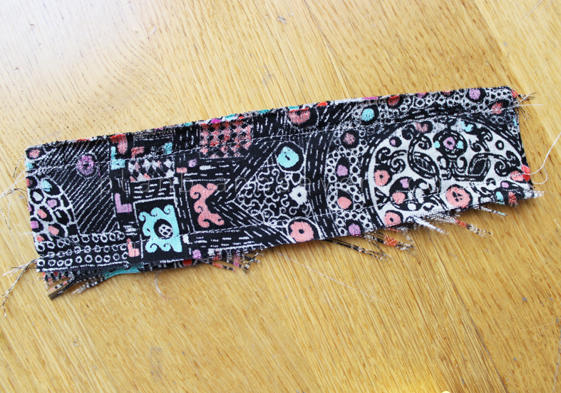 Plan B anna evers DIY Fabric bracelet step 2