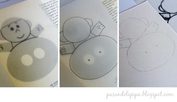 pasandolopipa | paso a paso para calcar dibujo