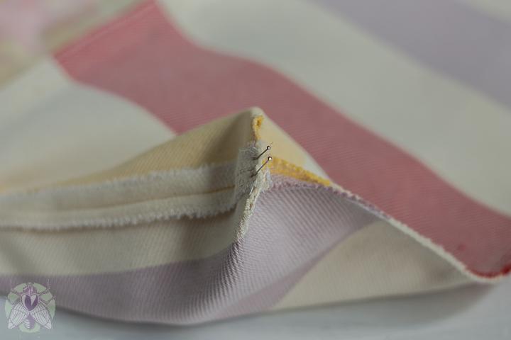 coser los tres lados abiertos y las esquinas