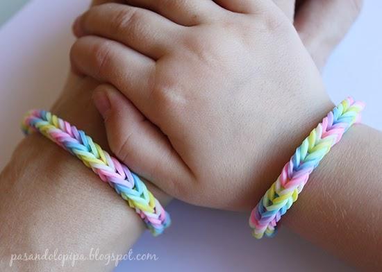 pasandolopipa | DiY Loom bands o pulseras de gomitas