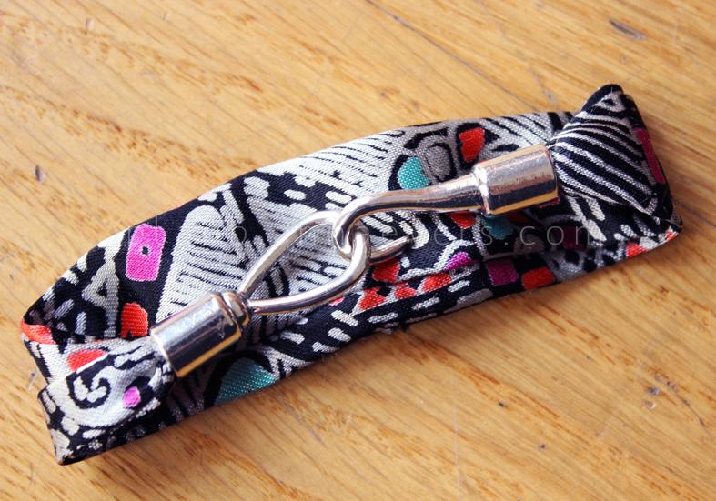 Plan B anna evers DIY Fabric bracelet step 10