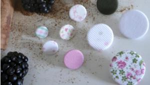 Canela diseños botones
