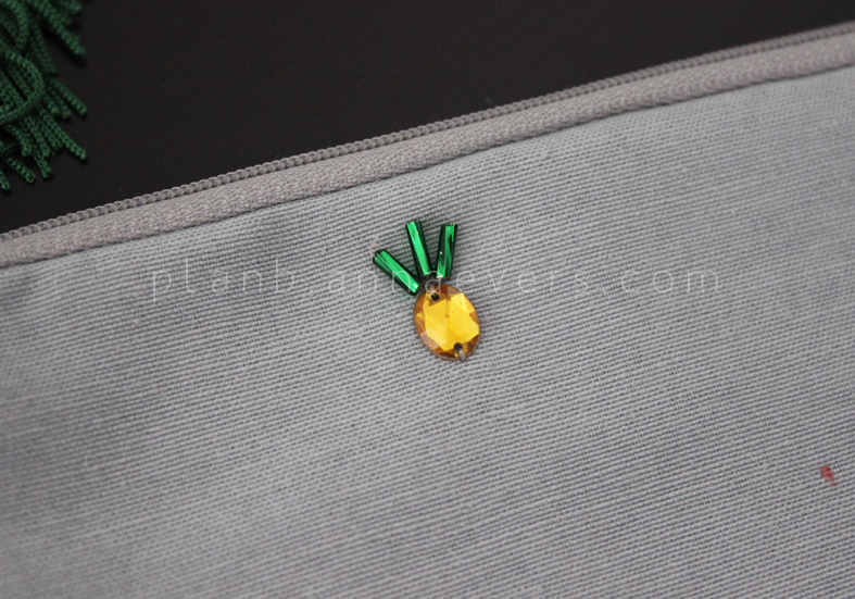 Plan B anna evers DIY Pineapple Pouch step 6