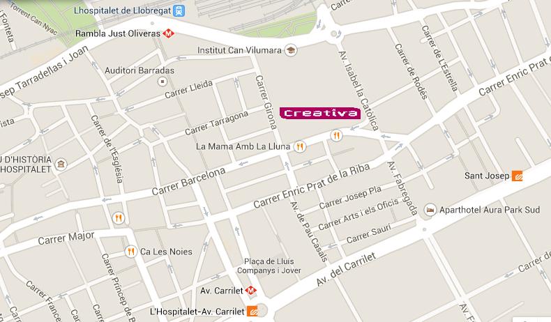 https://www.google.es/maps/place/Centro+Comercial+La+Farga/@41.361868,2.104473,17z/data=!3m1!4b1!4m2!3m1!1s0x0:0xce23ec13a39d4482
