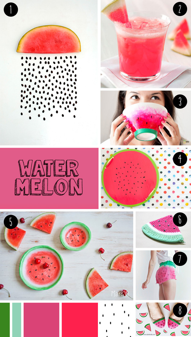 "7 watermelon DIY seen at ""I am a mess"""