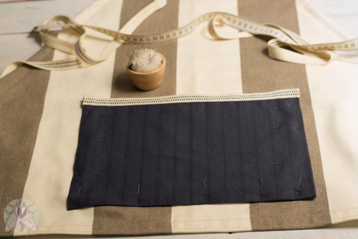 fijar y coser bolsillo 12