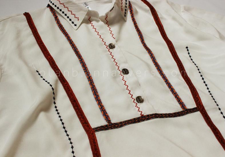 Plan B anna evers DIY Boho shirt step 6