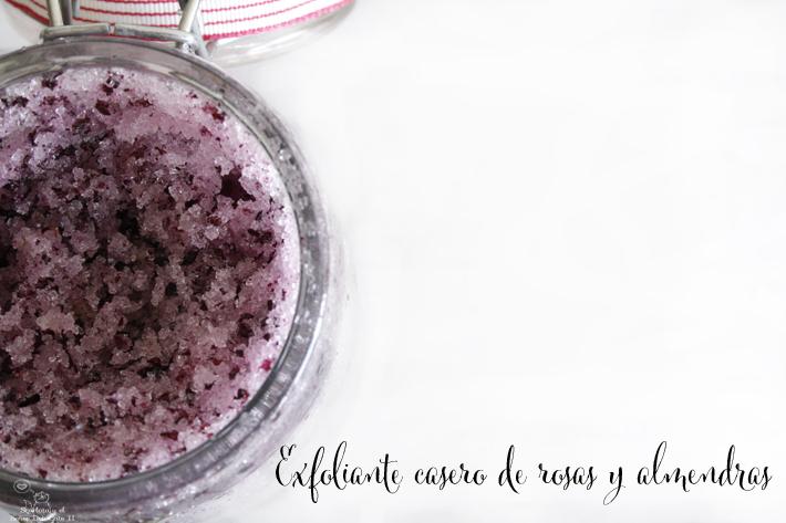 diy exfoliante casero de rosas y almendras - Handbox Craft Lovers ...