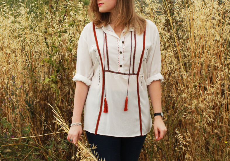 Plan B anna evers DIY Boho shirt DIY