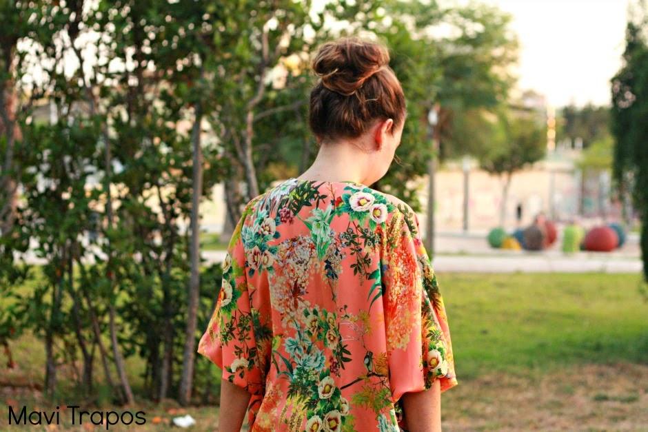 DIY Cómo hacer un kimono muy fácil (patrón molde gratis)